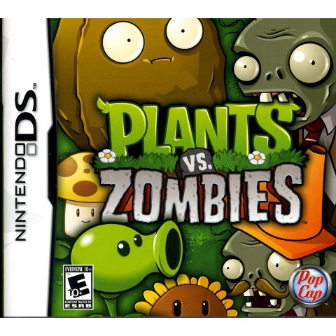 Plants Vs. Zombies PRE-OWNED (Nintendo DS)