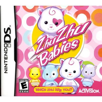 Zhu Zhu Babies: Which Zhu Are you? PRE-OWNED (Nintendo DS)