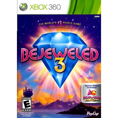Bejeweled 3 PRE-OWNED (Xbox 360)