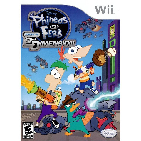Phineas And Ferb: Across The 2nd Dimension PRE-OWNED (Nintendo Wii)