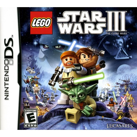 Lego Star Wars III: The Clone Wars PRE-OWNED (Nintendo DS)
