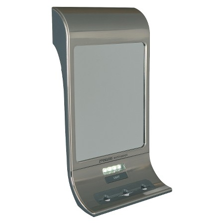 Zadro Stainless Steel Fogless Shower Mirror With Led Light