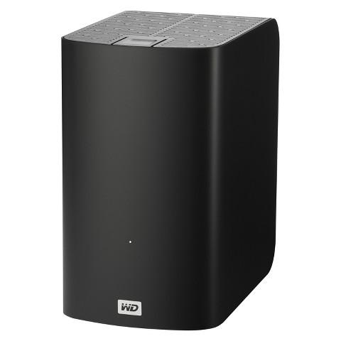 WD My Book VelociRaptor Duo for Mac 2TB External Hard Drive - Black (WDBUWZ0020JBK)
