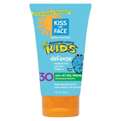 Kiss My Face® Mineral Sunscreen for Kids SPF 30 - 4 fl oz
