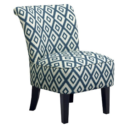 Skyline Accent Chair: Upholstered Chair: Threshold Rounded Back Chair
