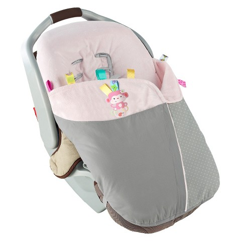 Taggies Snuggle & Stroll Carrier Blanket - Pink