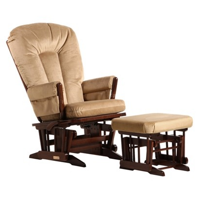 Dutailier 2-Post Recline Glider and Ottoman Combo
