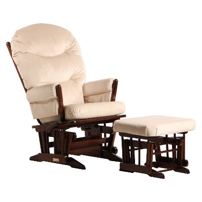 Dutailier 2-Post Glider and Ottoman Combo
