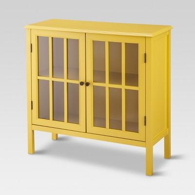 Windham Storage Cabinet - Yellow - Threshold™