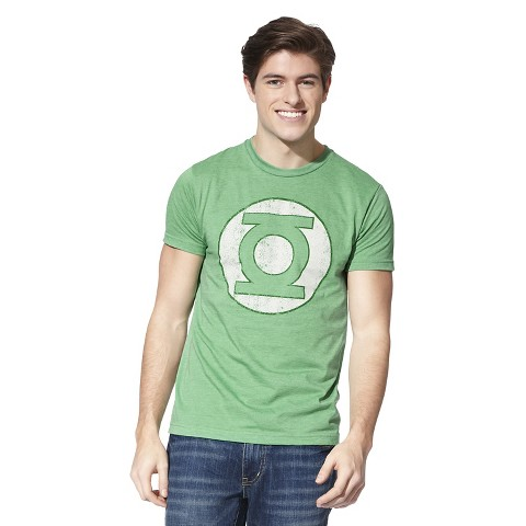 Men's Green Lantern T-Shirt Green