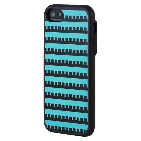Uncommon Castle Cell Phone Case for iPhone 5 - Green/Black (C0070-F)