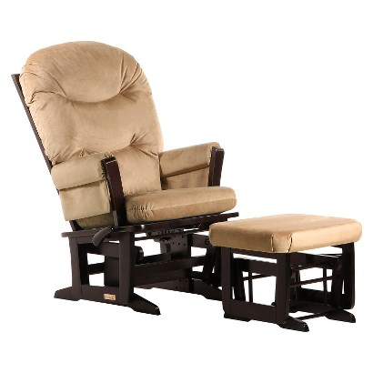 Dutailier Recline Glider and Nursing Ottoman Combo