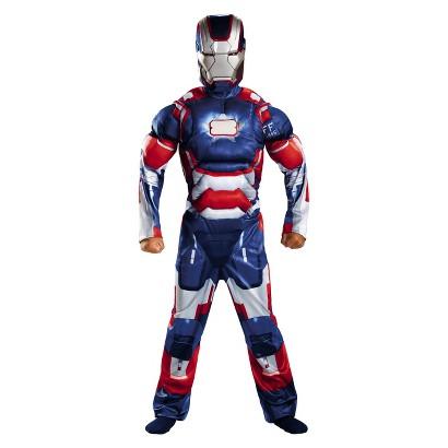 Boy's Iron Man - Iron Patriot Classic Muscle Costume