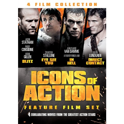Icons of Action (2 Discs)