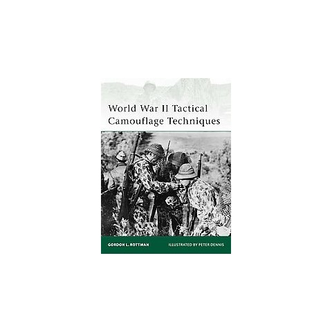 World War II Tactical Camouflage Techniques (Paperback)