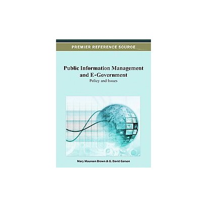 Public Information Management and E-Government (Hardcover)