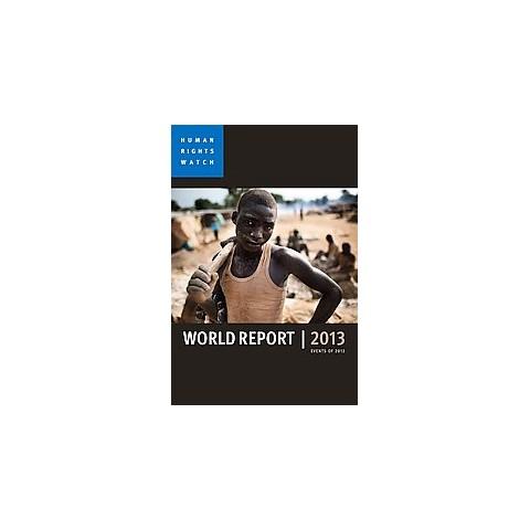 World Report 2013 (Paperback)