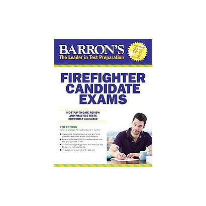 Barron's Firefighter Candidate Exams (Revised) (Paperback)