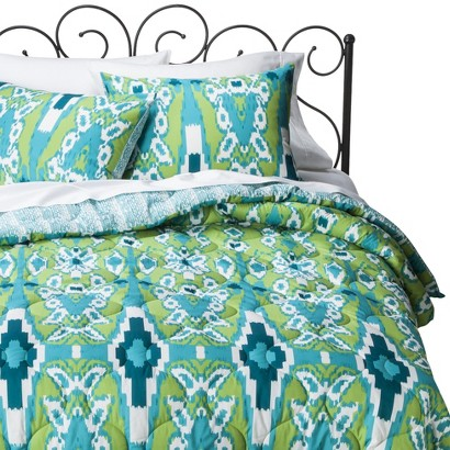 Xhilaration® Ikat Reversible Comforter Set