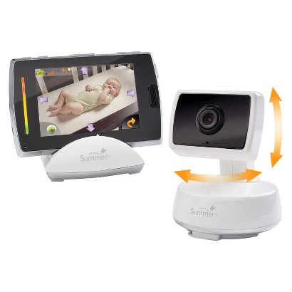 "Summer Infant 3.5"" Baby Touch Boost Digital Color Video Monitor"
