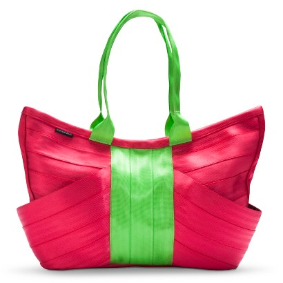 Maggie Bags Hot pink/lime Butterfly Bag