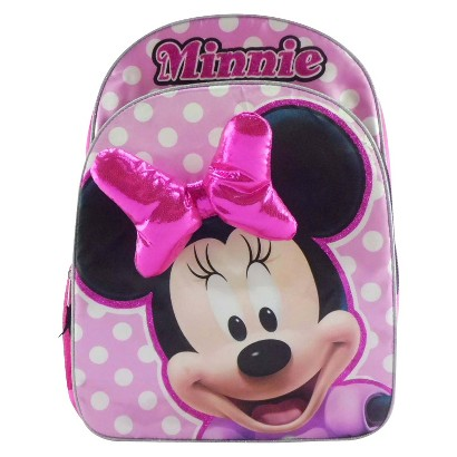 "Minnie Backpack - Pink (16"")"