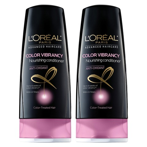L'Oréal® Paris Advanced Haircare Color Vibrancy Nourishing Conditioner - 2 pack bundle