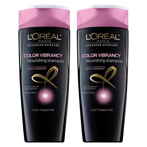 L'Oreal Paris Advanced Haircare Color Vibrancy Shampoo - 2 pack bundle