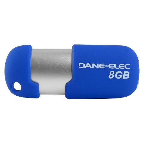Dane-Elec 8GB USB Flash Drive - Blue (DA-Z08GCNB15D-C)