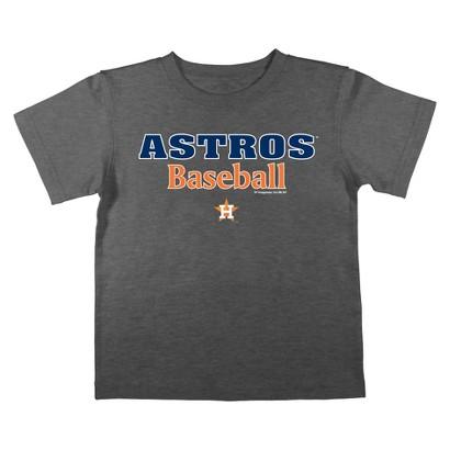 Houston Astros Boys Tee Black