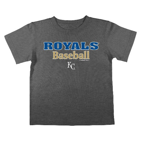 Kansas City Royals Boys Tee Black