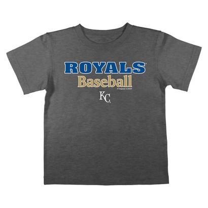 Kansas City Royals Boys Tee Black