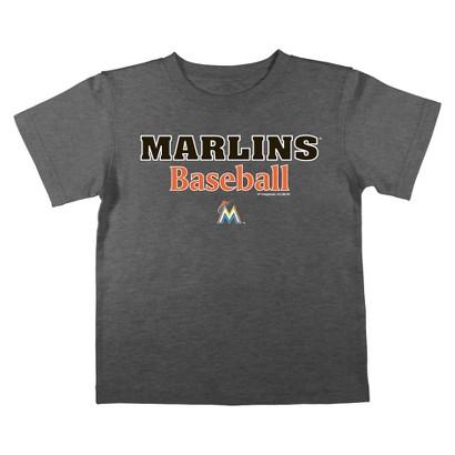 Florida Marlins Boys Tee Black