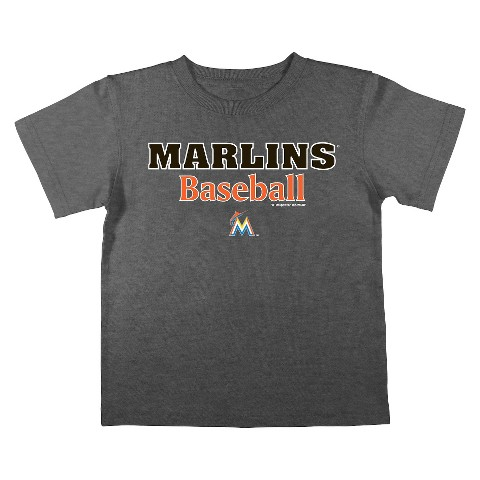 Florida Marlins Boys Tee - Black