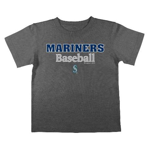Seattle Mariners Boys Tee Black