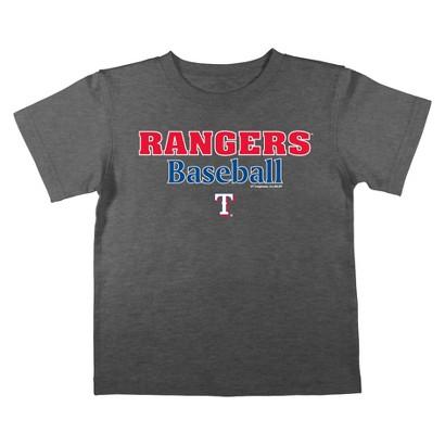 Texas Rangers Boys Tee Black