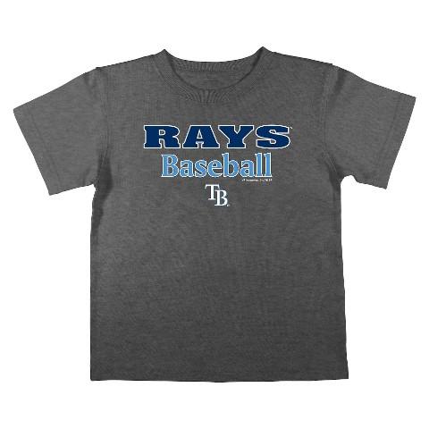 Tampa Bay Rays Boys Tee Black