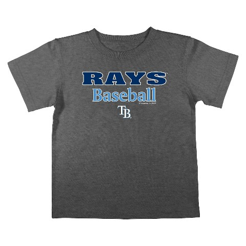 Tampa Bay Rays Boys Tee Black
