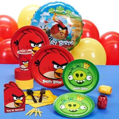Angry Birds Party Pack for 16 Guests
