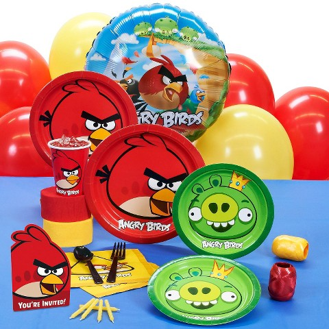 Angry Birds Birthday Party Pack