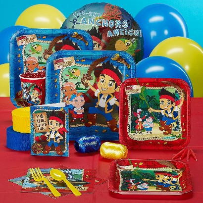Disney Jake and the Never Land Pirates Party Pack for 8 Guests