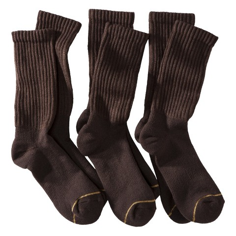 Auro® a GoldToe Brand Men's 3pk Socks - Assorted Colors