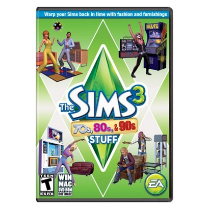 The Sims 3: 70s, 80s, and 90s Stuff (PC Games)