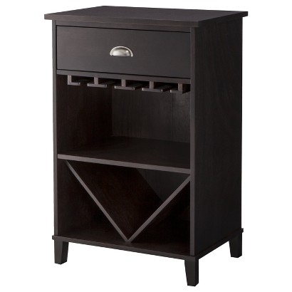 Threshold™ Bar/Wine Storage Cabinet - Tobacco