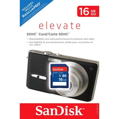 SanDisk 16GB SD Memory Card - Blue (SDSDB-016G-T46)