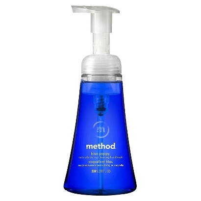 method foaming hand wash blue poppy 10oz