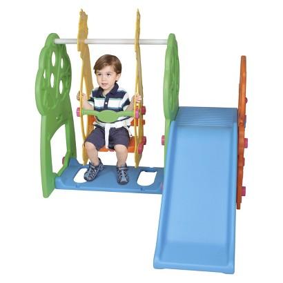 Pavlov'z Toyz Indoor/Outdoor Swing/Slide Playground