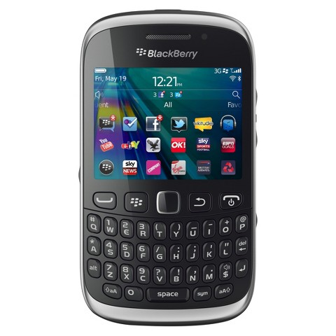 Blackberry 9320 Unlocked Cell Phone for GSM Compatible - Black