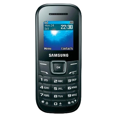 Samsung Keystone 2 E1205L  Factory Unlocked Cell Phone for GSM Compatible - Black