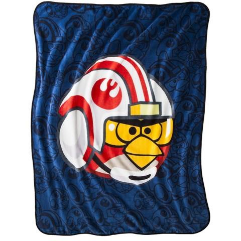 Angry Birds Star Wars Throw - Luke Skywalker